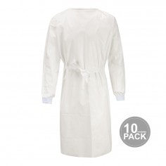 Protective Sterile Gown – 10 Units per Pack
