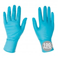 Guantes de Examen de Nitrilo Pack 100 guantes